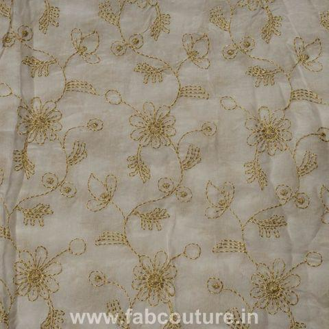 Muslin Cotton Thread Embroidery