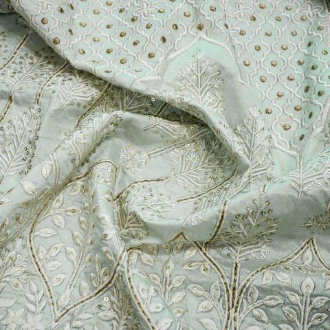 Monga Silk Embroidery