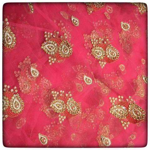 Net Kundan Embroidery