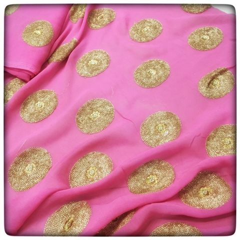 Georgette Embroidery
