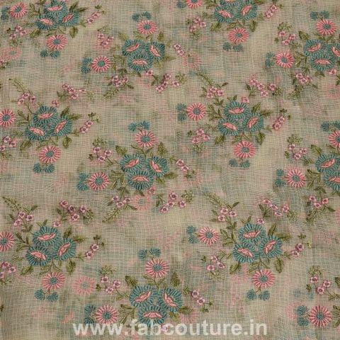 Kota Doria Thread Embroidery