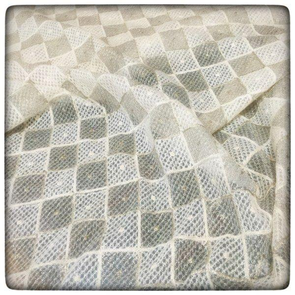 Net Chikan sifly Embroidery