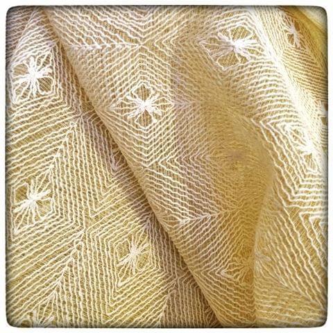 Zari Kota Doria Embroidery