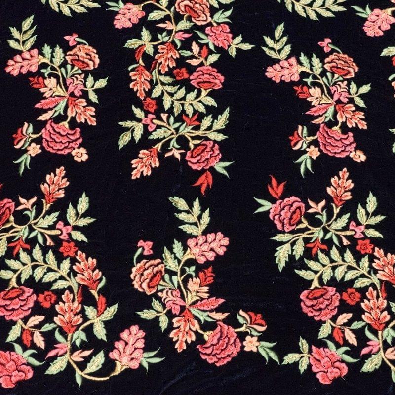 Velvet Thread Embroidery
