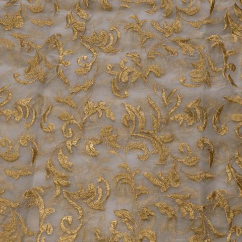 Organza Zari Embroidery