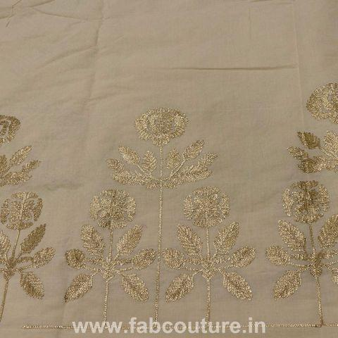 Cotton Border Embroidery