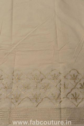 Cotton Gota Border Embroidery