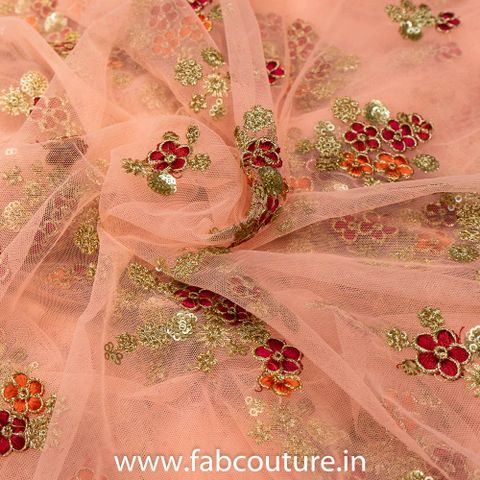 Net Floweral Embroidery