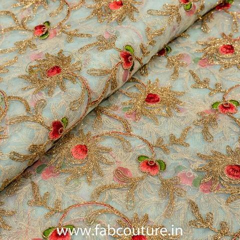 Net Zari and Thread Embroidery