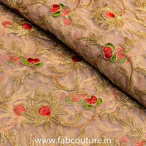 Net Zari and Thread Embroidery