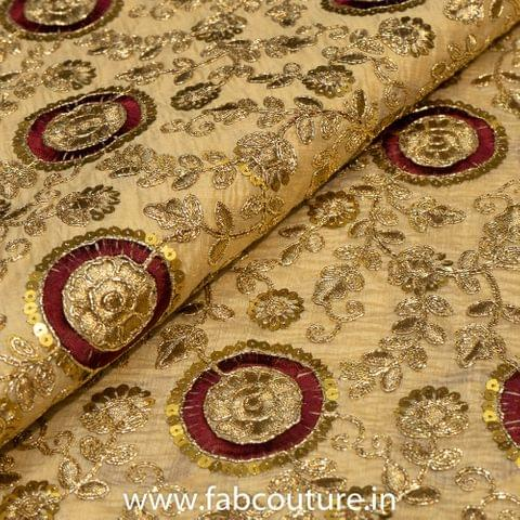 Tissue Chanderi Embroidery