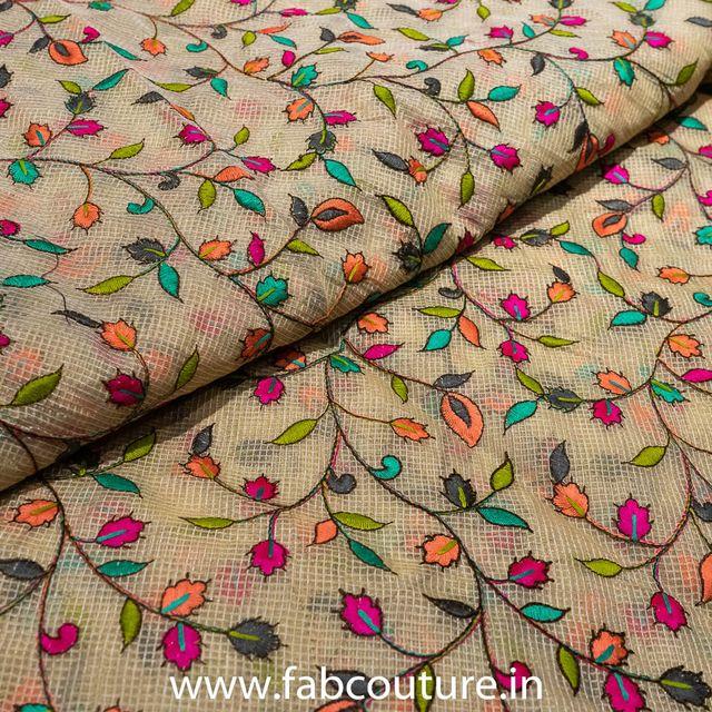Kota Checks Embroidery