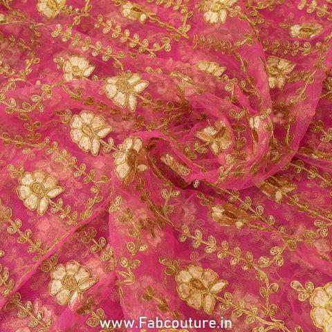 Net Zari Embroidery