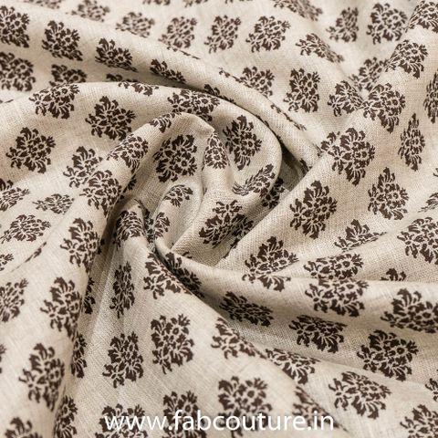 Block Printed Linen