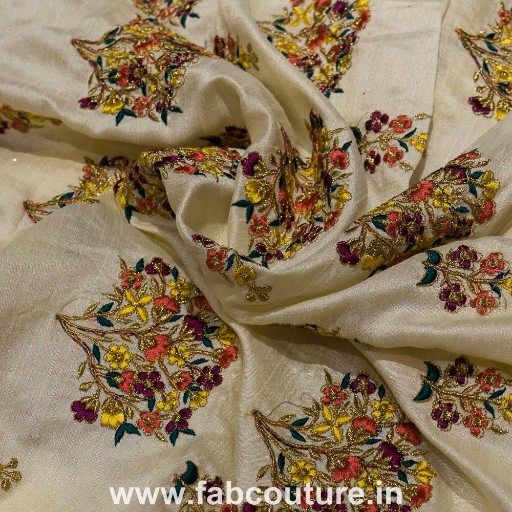 Mulbury silk Embroidery