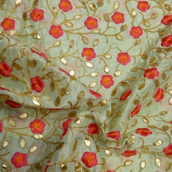 Upara Silk Emboridery