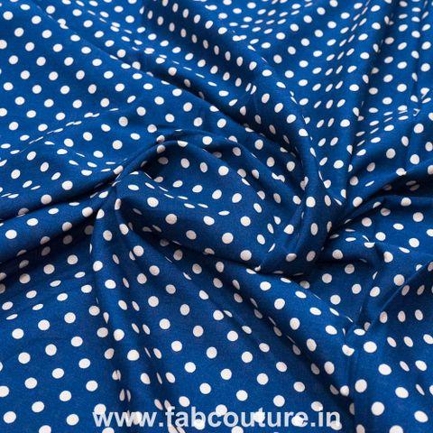 Polka Rayon Print