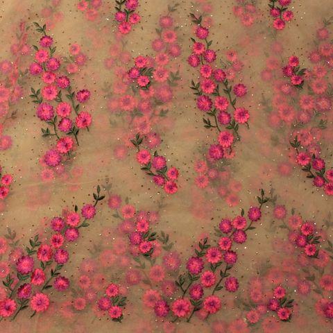 Net Thread Embroidery