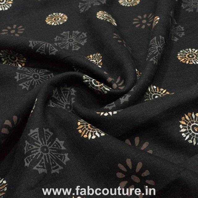Linen Zari Embroidery