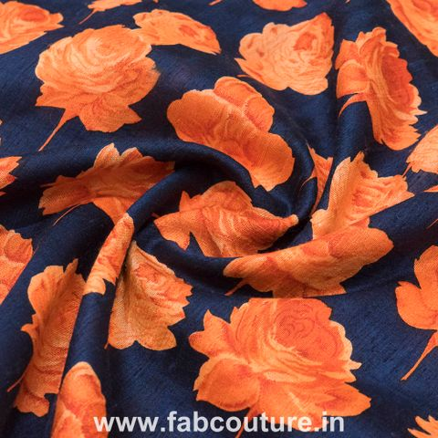 Raw Silk Print