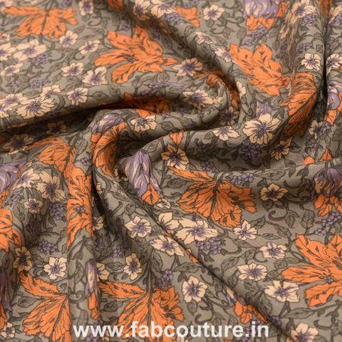 Pure Silk Crepe Print