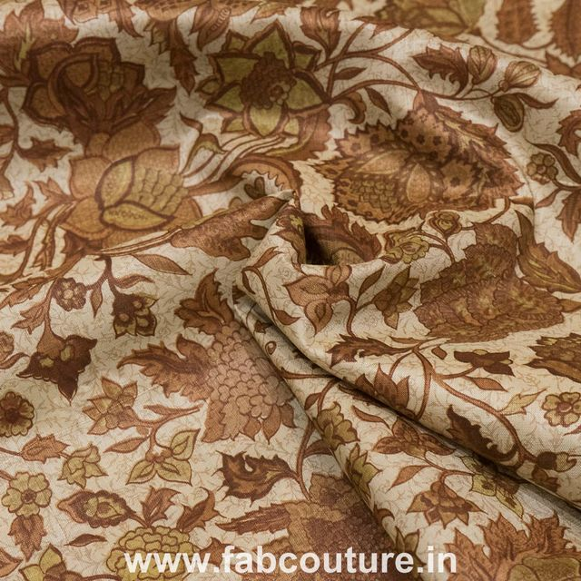 Tussar Silk Print