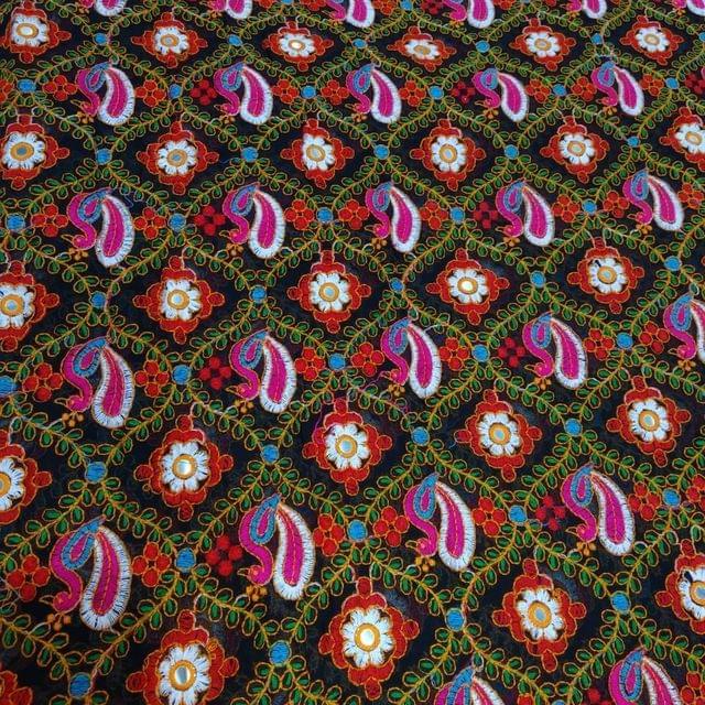 Georgette Gujrati Embroidery