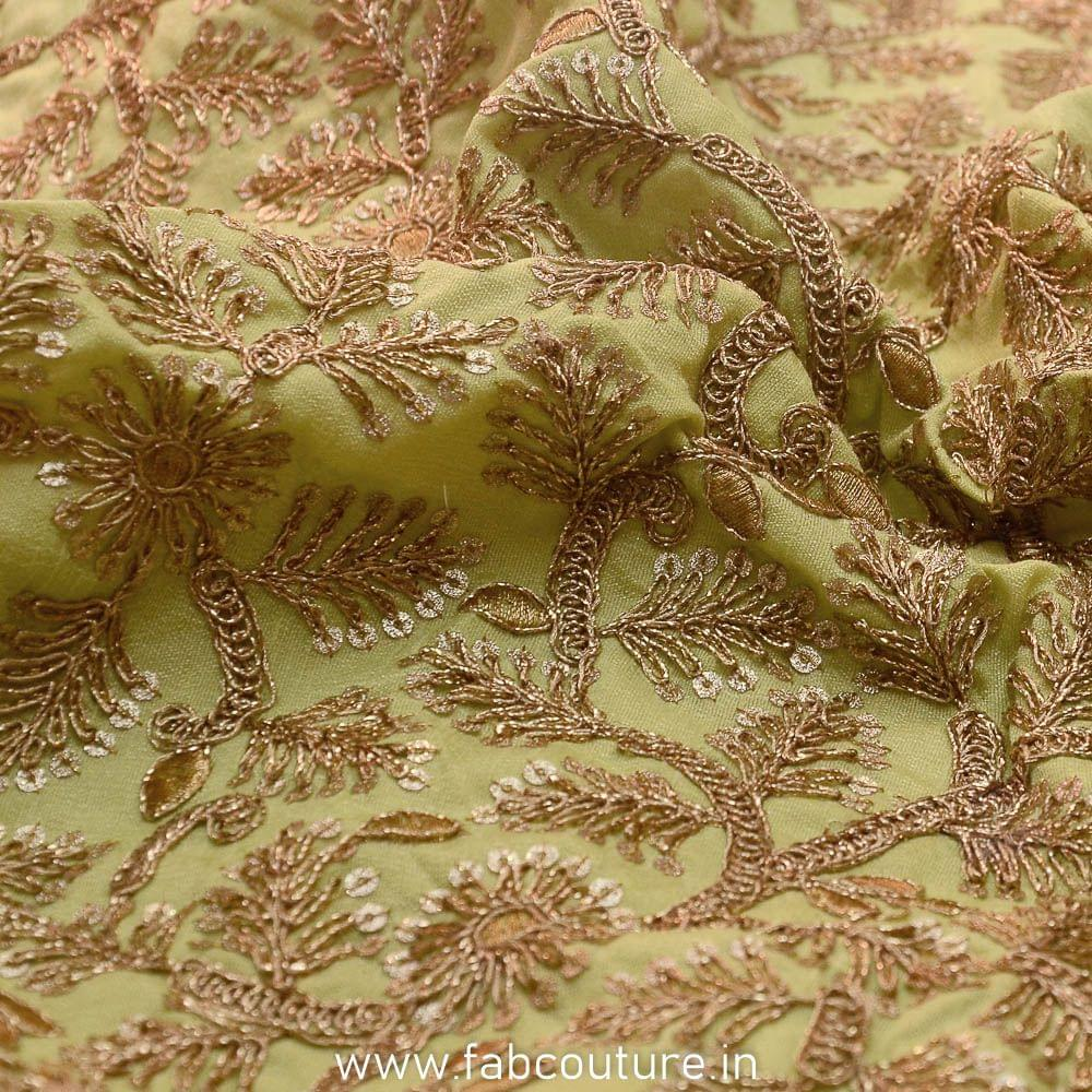 Poly Dupion Silk Embroidery