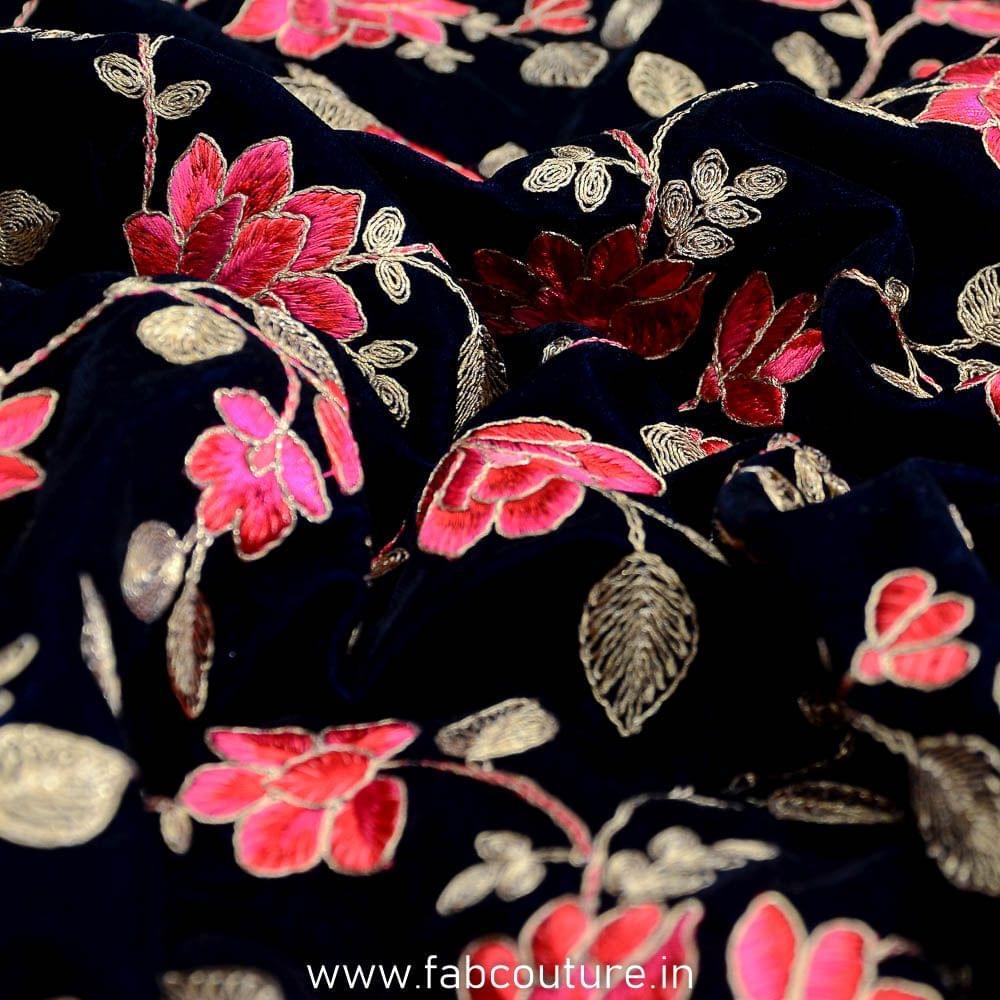 Velvet Embroidery