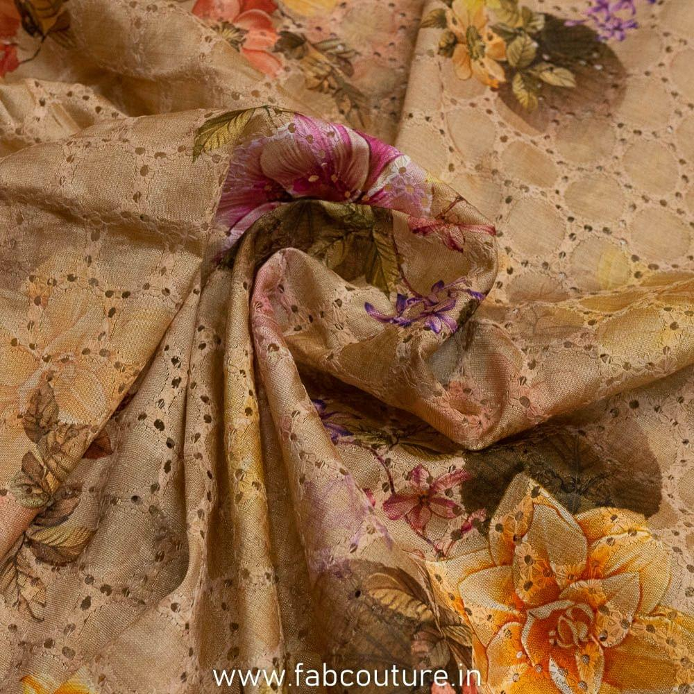Emb Silk Print
