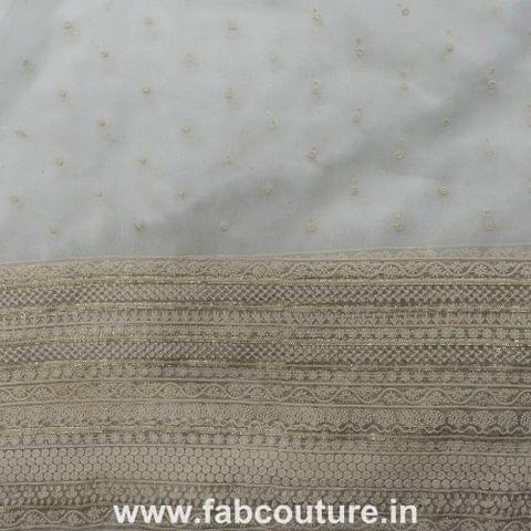 Organza embroidery