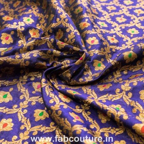 Brocade Meena Antique Zari