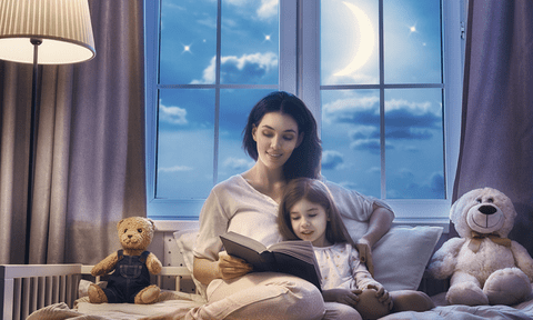 5 Life shaping benefits of Bedtime Stories for Kids