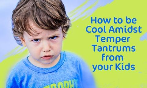 How to Handle Toddler's Temper Tantrums