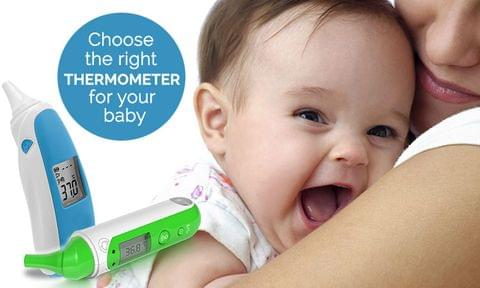 How to Choose the Right Thermometer for Your Baby