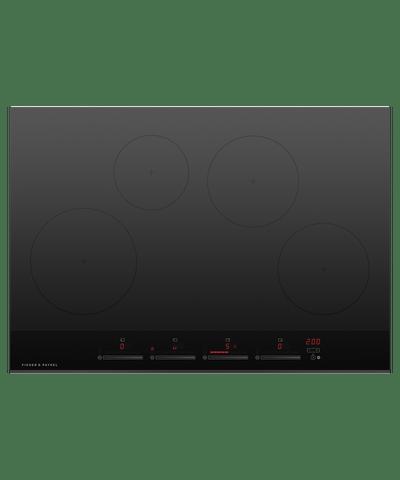 75cm Induction Cooktop w/ 4 Cooking Zones - Black