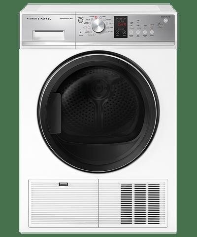 Fisher & Paykel 8kg Condenser Dryer w/ Auto Sensing - White