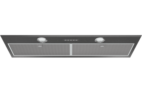 86cm Integrated Rangehood Dark S/S