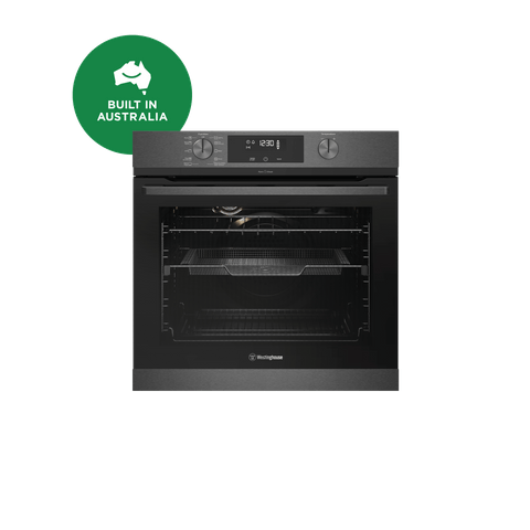 60cm Electric Steam Oven w AirFry Dark S/S