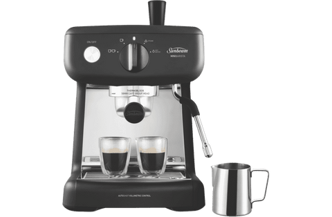 Mini Barista Espresso Coffee Machine - Black