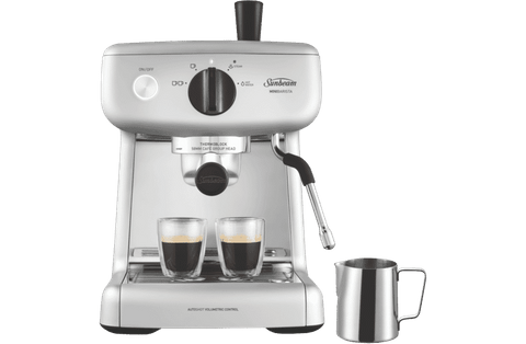 Mini Barista Espresso Coffee Machine - Silver