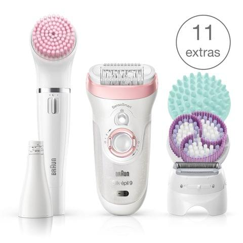 Braun Silk-epil Beauty Set 9 9-985 Deluxe 7-in-1 Hair Removal Set