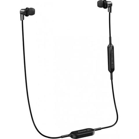 Panasonic Wireless Stereo Earphones - Black