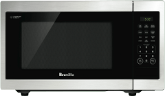 BREVILLE 23L 900W Flat Bed Microwave Oven