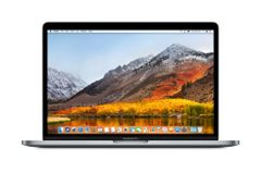 Apple MACBOOK PRO 13-INCH WITH TOUCH BAR: 2.3GHZ QUAD-CORE I5/8GB/512GB/INTEL IRIS PRO 655 - SPACE GREY
