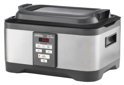 SUNBEAM 5.5L Duos Sous Vide and Slow Cooker - Stainless Steel (MU4000)
