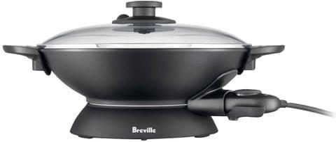 BREVILLE The Quick Wok, 5 Litre Compact Size - Black