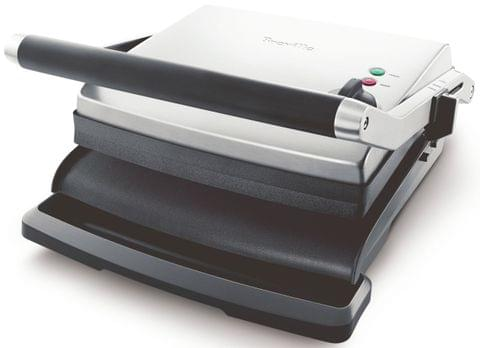 BREVILLE The Adjusta Electric Grill & Sandwich Press - Stainless Steel (BGR250)