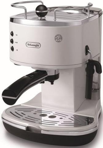 DELONGHI Icona Pump Coffee Machine - Pearl White (ECO310W)