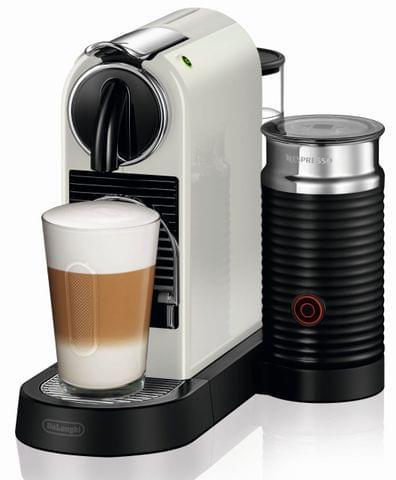 DELONGHI Nespresso Citiz & Milk Coffee Machine - White (EN267WAE)